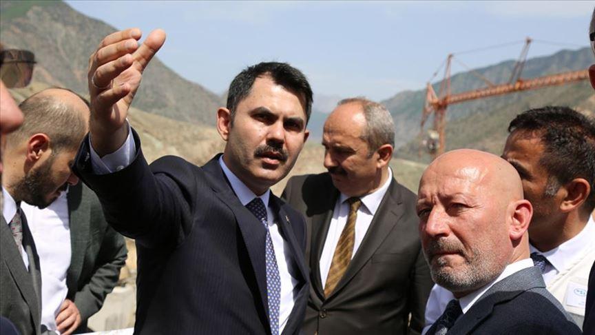 Bakanı Kurum: Şehir merkezini üç noktaya taşıyoruz
