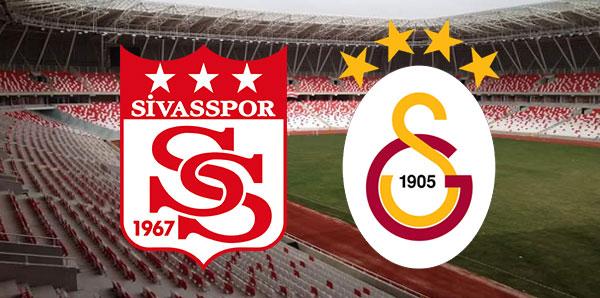 Sivasspor Galatasaray maçı / CANLI