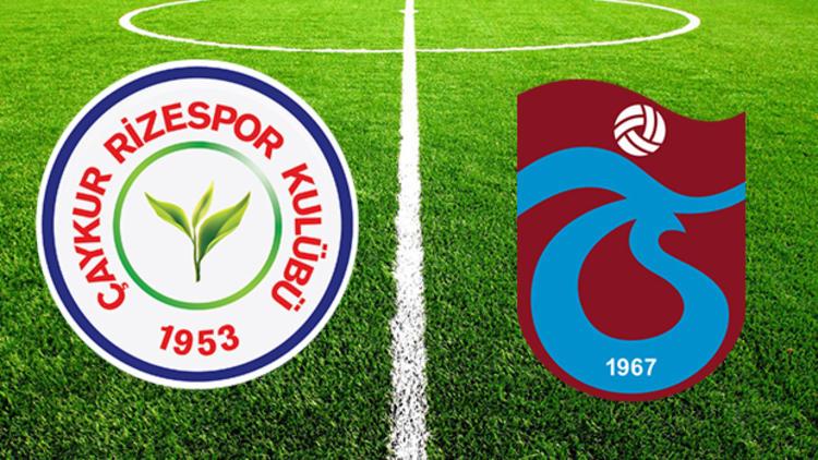 Çaykur Rizespor Trabzonspor maçı / CANLI