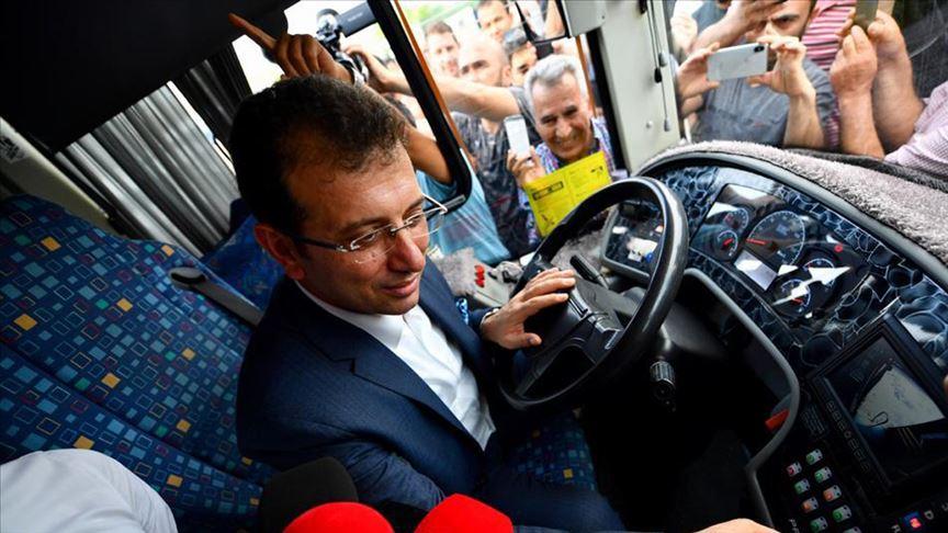 İmamoğlu 500T otobüs hattı şoförleriyle bir araya geldi