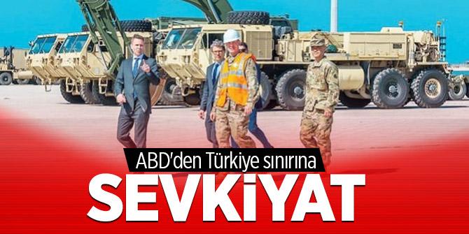 ABD'den Türkiye sınırına sevkiyat