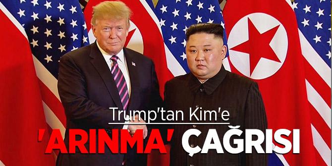 Trump'tan Kim'e 'arınma' çağrısı