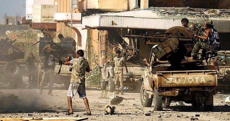 Libya'da Hafter'e bağlı savaş uçağı düşürüldü