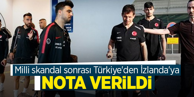 Milli skandal sonrası Türkiye'den İzlanda kararı!