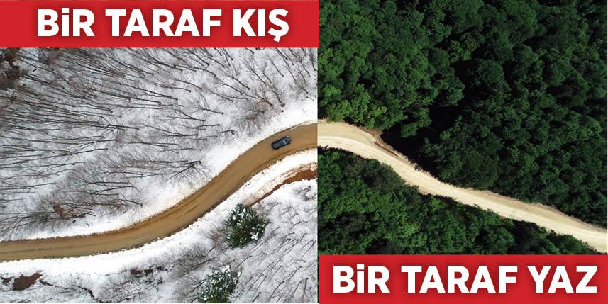 Türkiye'nin her köşesinden yaz-kış manzaraları