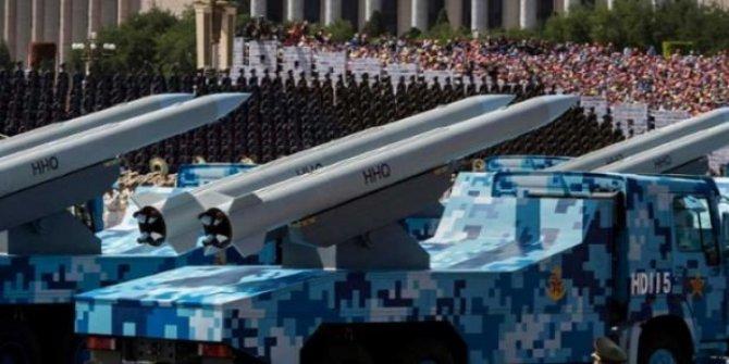 Çin askeri teknolojide ABD'yi geçecek!
