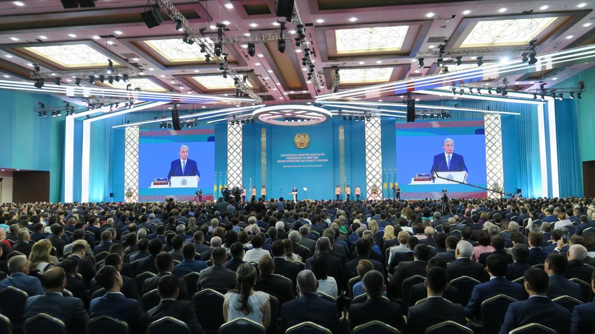 Kazakistan Cumhurbaşkanı Tokayev yemin ederek göreve başladı