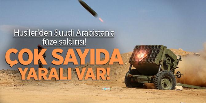 Husiler'den Suudi Arabistan'a füze saldırısı! Çok sayıda yaralı var