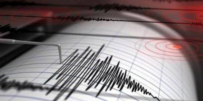 Akdeniz'de 4,4 büyüklüğünde deprem oldu