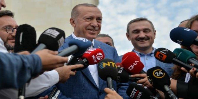 Tarihi oturum için Cumhurbaşkanı Erdoğan ne dedi?