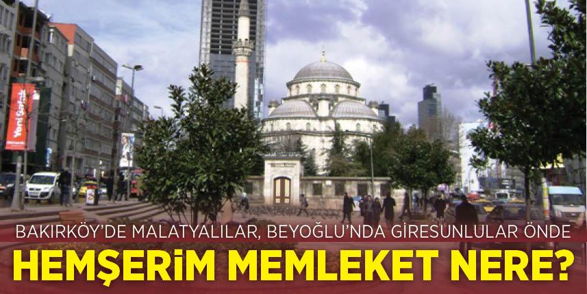 İstanbul'un ilçelerinde o insanların sözü geçiyor