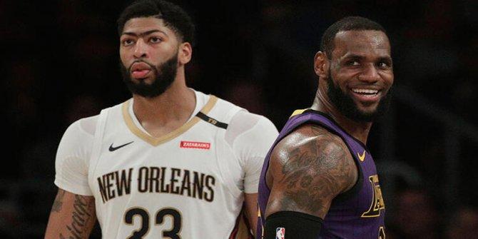 NBA'de yılın takası! Anthony Davis Lakers'a..