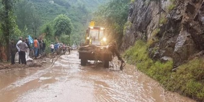 Trabzon'da santral borusu patladı: 2 kayıp