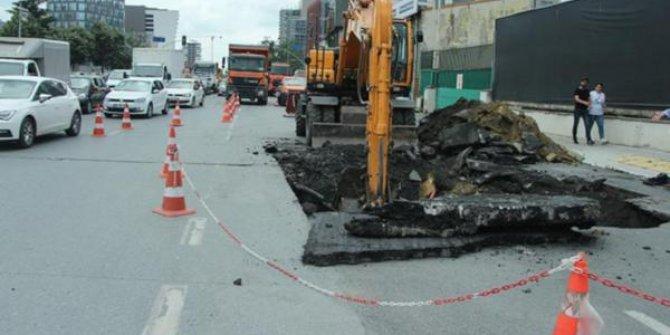 Kağıthane Cendere Caddesi çöktü!