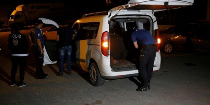Ankara'da asayiş uygulaması: 20 gözaltı!