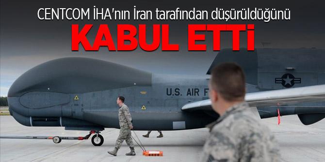 CENTCOM İHA'nın İran tarafından düşürüldüğünü doğruladı