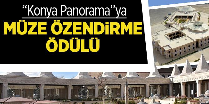 """""""Konya Panorama""""ya Müze Özendirme Ödülü"""