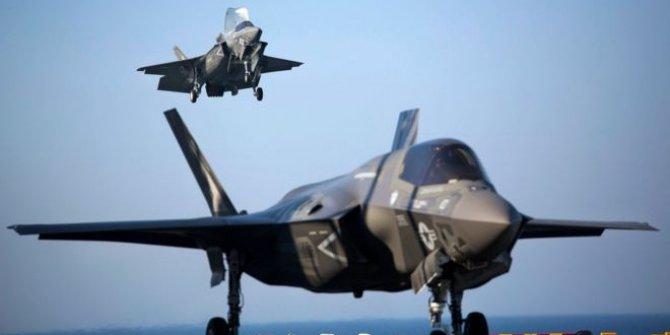 Ülkedeki F-35'ler Suriye ve Irak'ta göreve çıktı!