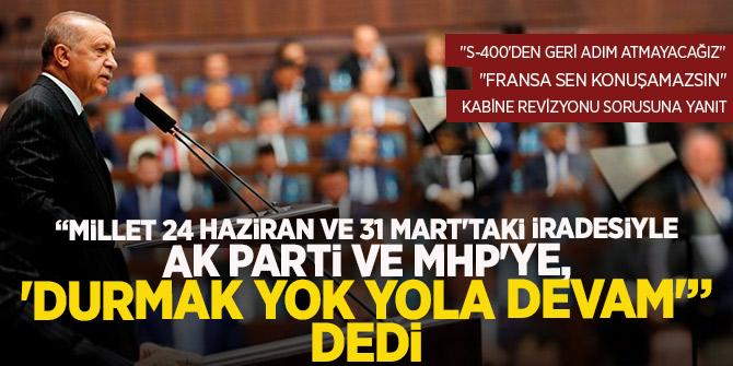 Millet 24 Haziran ve 31 Mart'taki iradesiyle AK Parti ve MHP'ye, 'Durmak yok yola devam'!