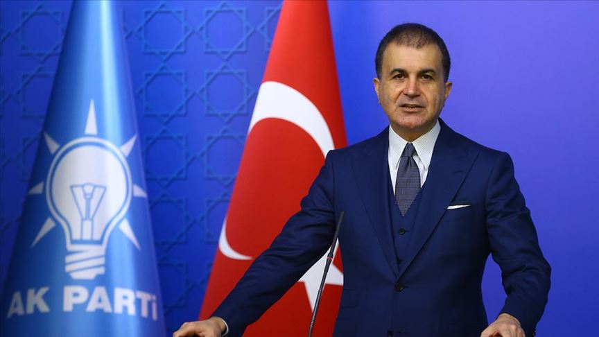 """Ömer Çelik, Yunanistan Başbakanını uyardı ve ekledi! """"Saygılı bir dil kullanmalıdır"""""""