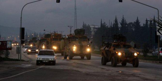 Ve operasyon başladı! Türk askeri ilerliyor