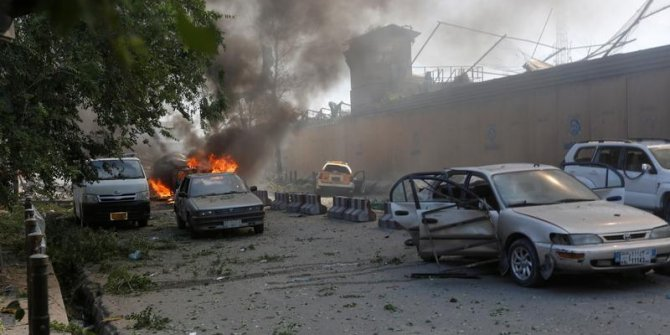 Ülkenin başkenti Kabil'de terör saldırısı: 65 yaralı