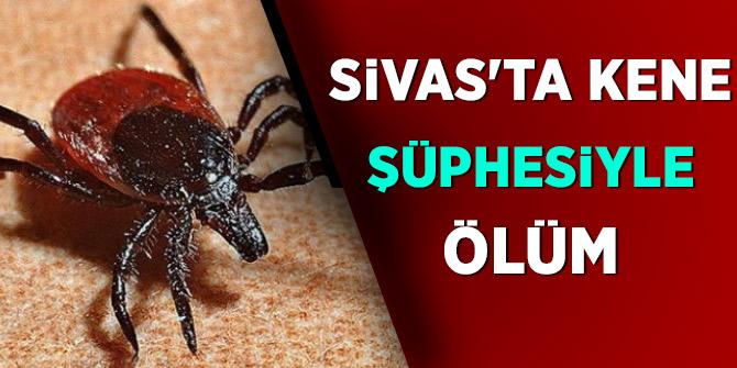 Sivas'ta kene şüphesiyle ölüm