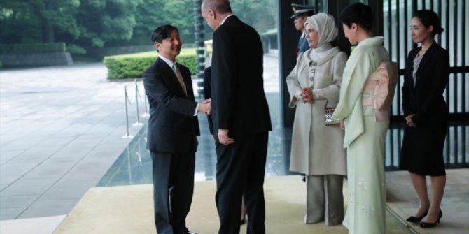 Erdoğan, Japon İmparatoru Naruhito ile görüştü!