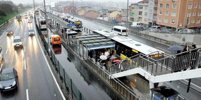 FSM'deki çalışma nedeniyle 300 ek metrobüs seferi