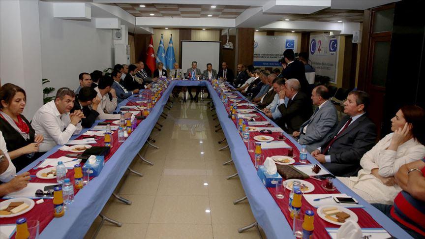 Türk iş heyeti Irak'ta Türkmen iş adamlarıyla buluştu