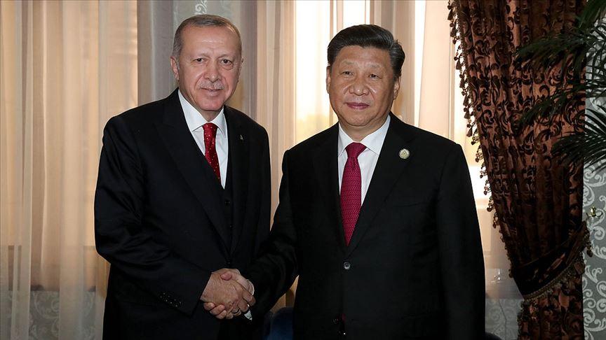 Cumhurbaşkanı Erdoğan: Türkiye ve Çin aynı vizyonu paylaşıyor