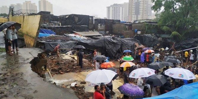 Yağış nedeniyle duvar çöktü: 15 ölü, 69 yaralı