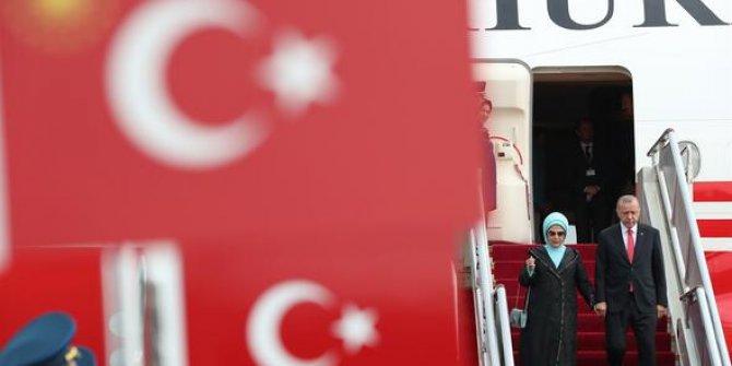 Japonya'dan sonra Cumhurbaşkanı Erdoğan Çin'de