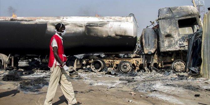 Nijerya'da tanker patladı: 50 ölü