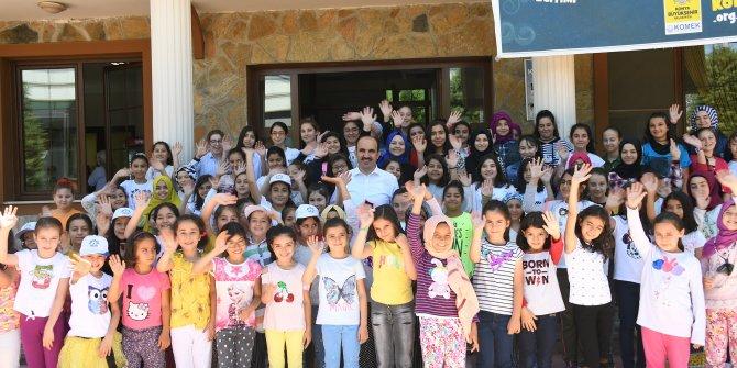 Başkan Altay Genç KOMEK Yaz Okulu Öğrencileriyle Buluştu