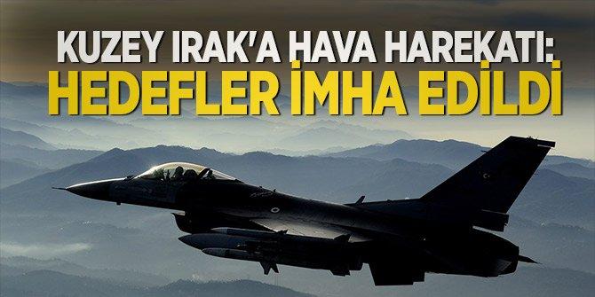 Zap ve Metina'daki terör hedefleri vuruldu!