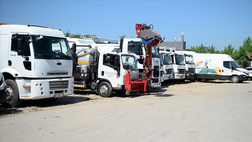 İBB'nin kayıp araç filosu bulundu iddiasına yalanlama