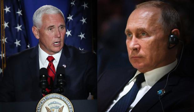 Pence 'acil' koduyla Beyaz Saray'a çağırıldı! ABD'den açıklama!