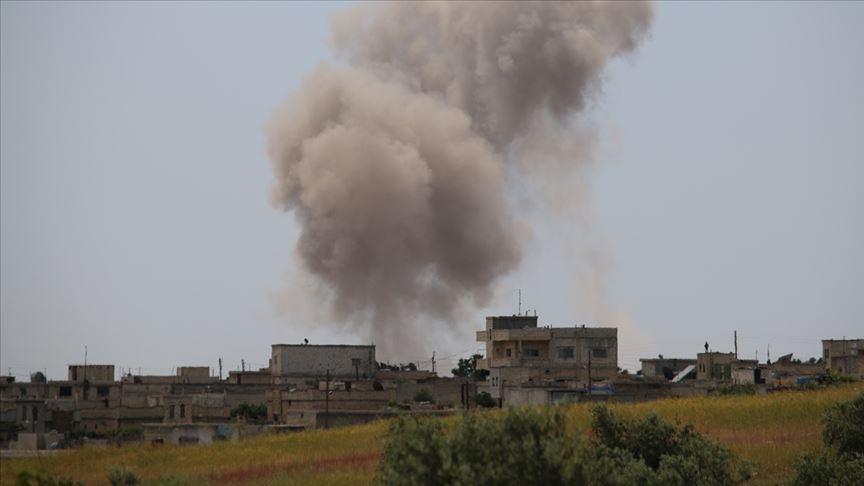 Suriye'de YPG/PKK'nın düzenlediği havan saldırılarında 7 sivil yaralandı
