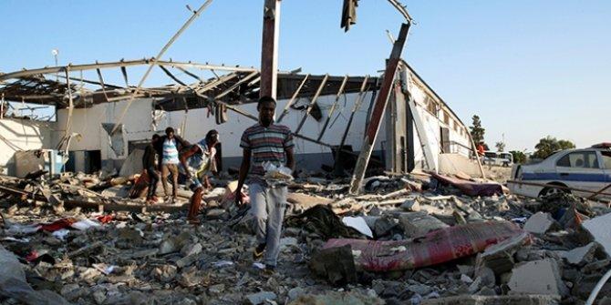 Göçmenleri hedef aldı: En az 30 ölü (Hafter güçleri)
