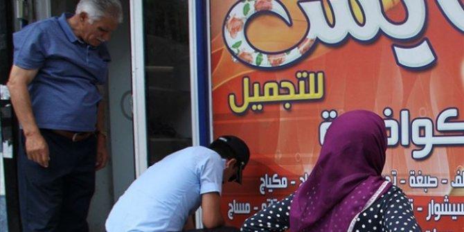 İstanbul'da Arapça tabelalara denetim