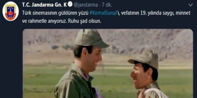 Jandarma ve Emniyet'ten Kemal Sunal paylaşımı! ( 19. yılı)