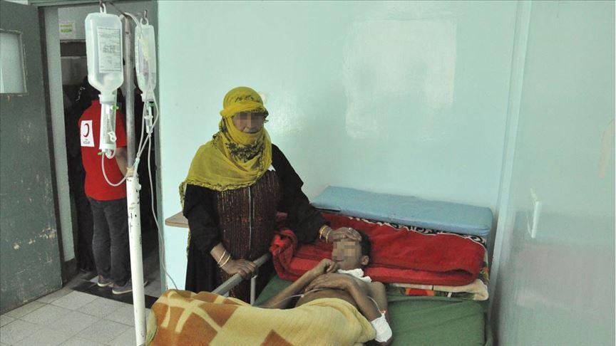 Yemen'de 63 kişi koleradan öldü