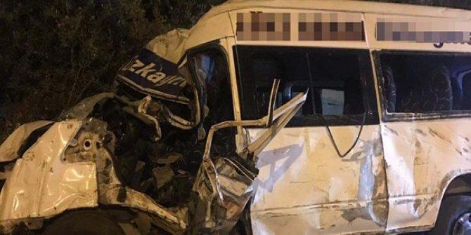 Otobüs firmasının minibüsünü çaldı, kazada öldü!