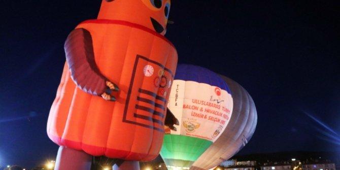 Türkiye'nin ilk balon festivali Ürgüp'te başladı