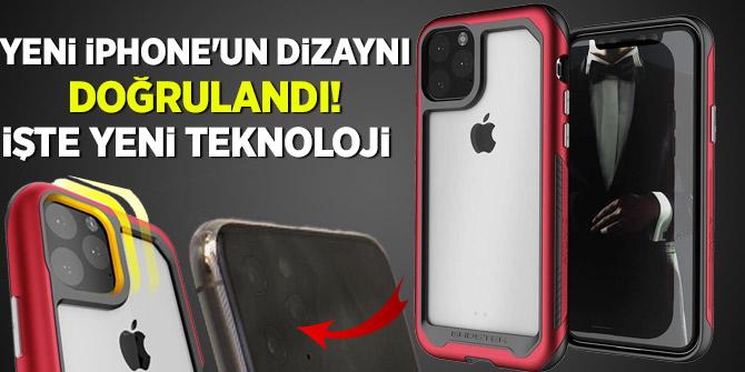 Yeni iPhone'un dizaynı doğrulandı! İşte yeni Teknoloji