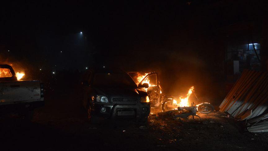 Suriye'de YPG/PKK havan saldırısı düzenledi! Ölü ve yaralılar var!