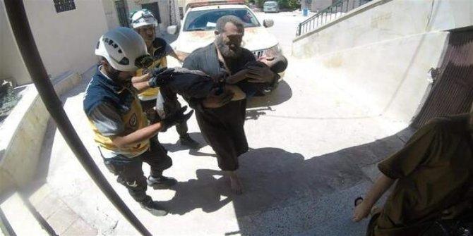 İdlib'e Esad ve Rusya'dan hava saldırısı