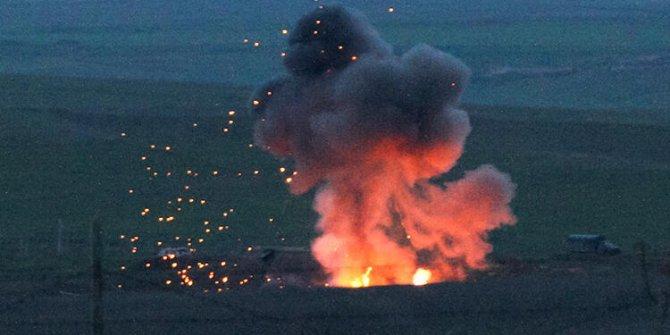 Tank mermisi yere düştü: 2 şehit