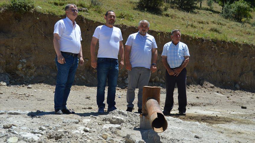 Afyonkarahisar'da 620 metre derinlikte termal su bulundu